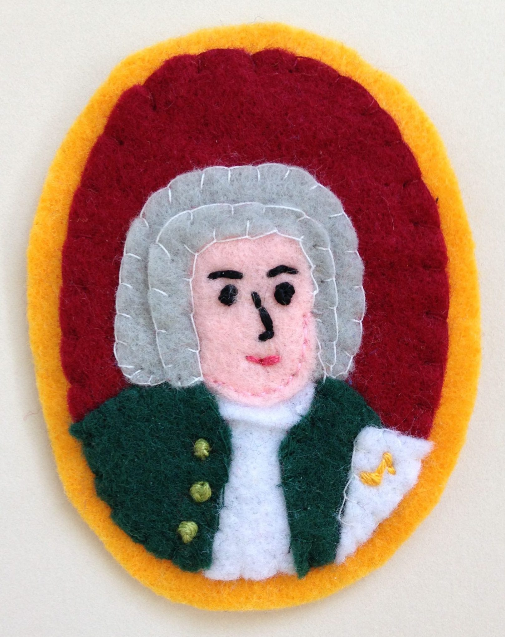 Johann Sebastian Bach Sew-on Patch