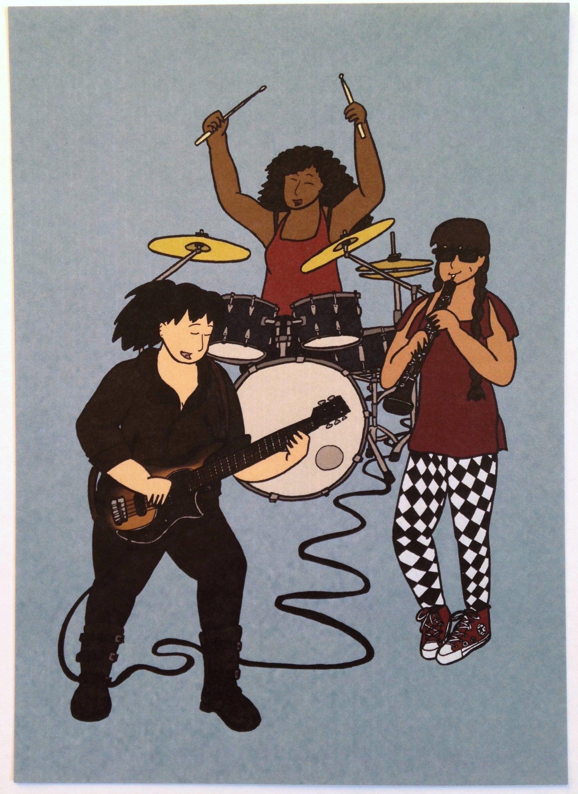 Conservatory Jam Band Print (Seconds Sale)